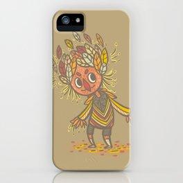Fall buddy iPhone Case
