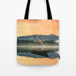Golden Getaway Tote Bag