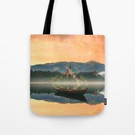 Golden Getaway Tote Bag