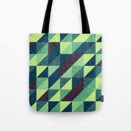 Retro-Geo Pattern Tote Bag