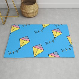 Summer - Kites In The Air Rug