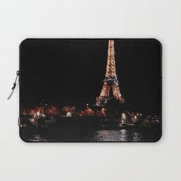 Rose Gold Eiffel Tower Laptop Sleeve