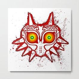 zelda majora mask Metal Print