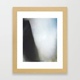 Crumple - Abstract art Framed Art Print