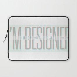 I'm Designer Laptop Sleeve