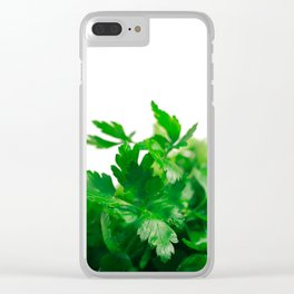 Parsley Clear iPhone Case