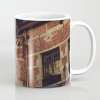 brussels Mugs featuring Brussels by monography