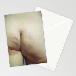 Study of Buttocks Stationery Cards
