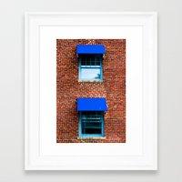 kansas city Framed Art Prints featuring Kansas City by Lovejoy Photography