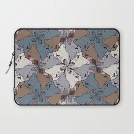 Frenchie Yoga Tessellations Laptop Sleeve