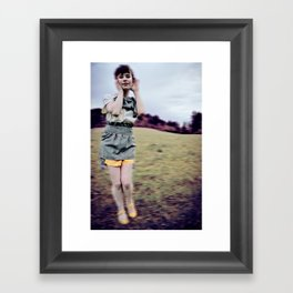 modified style Framed Art Print