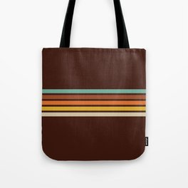Wanderlust Retro Stripes Tote Bag