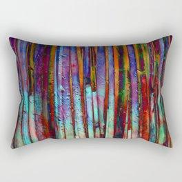 Colored Bamboo 2 Rectangular Pillow