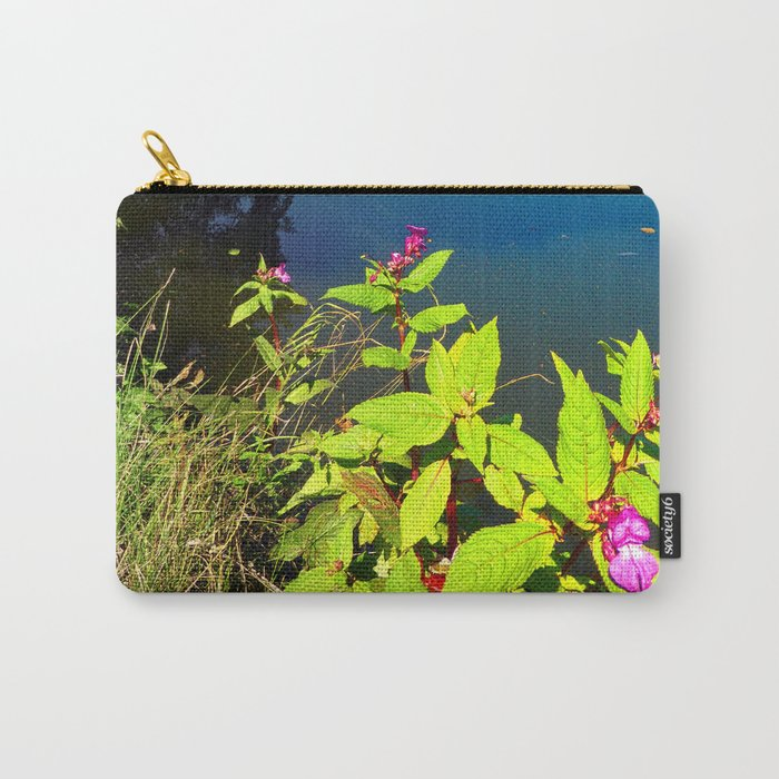End of summer at the pond Carry-All Pouch