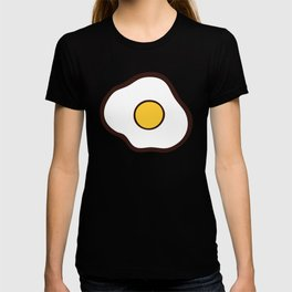 Fried Eggs Pattern T-shirt