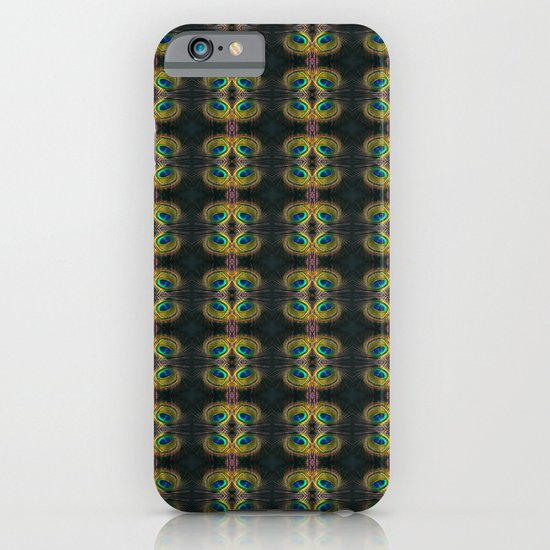 Peacock Bead Abstract iPhone & iPod Case