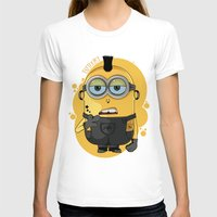 minion T-shirts featuring Minion Tattooist by Vanesa Abati