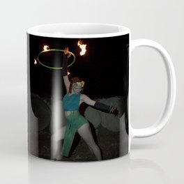 Halo of Fire - Fire Hoop Performance Coffee Mug