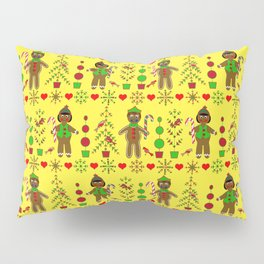 Gingerbread Children Pillow Sham