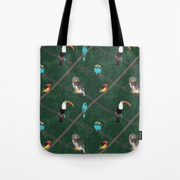 Crossed Branches Tote Bag