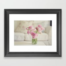 A Pastel Winter Framed Art Print
