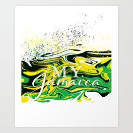 My Jamaica Art Print