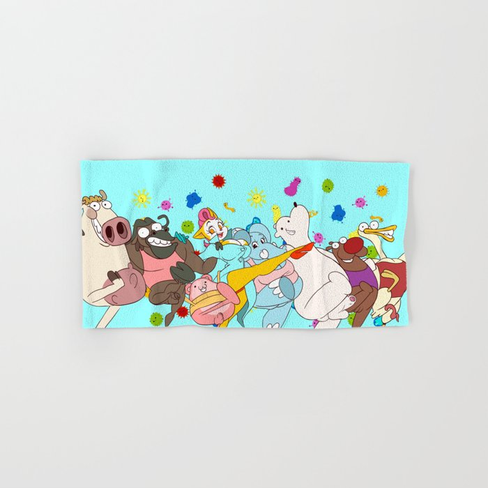 STD Song (Peepoodo) Hand & Bath Towel