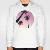 palm tree Hoodies featuring Palm tree by Emma.B