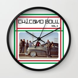 Chicano Soul Vol. 3 Wall Clock