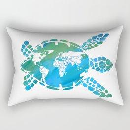 Mother Earth II Rectangular Pillow