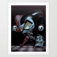 Lil' Harley Art Print