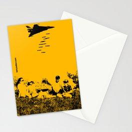 No fly zone. Stationery Cards