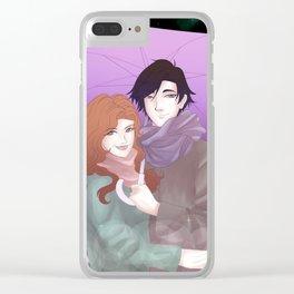 umbrella - mc3 x jumin Clear iPhone Case