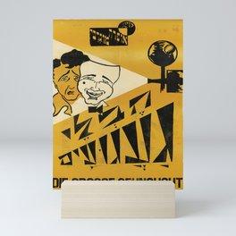 retro die grosse sehnsucht   cinema opera mughrabi. circa 1931  Mini Art Print