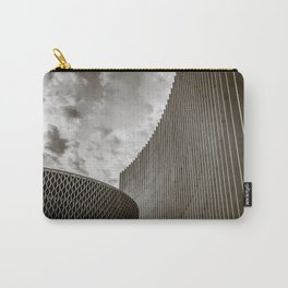 Texturized Brutalism Carry-All Pouch