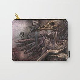 Bird Skull Prophesy Carry-All Pouch