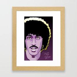 Phil Lynott Framed Art Print