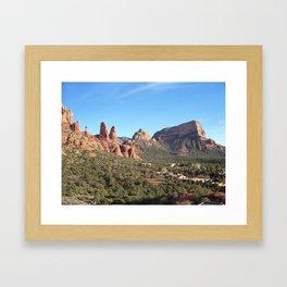 Red Rocks of Sedona, Arizona Framed Art Print