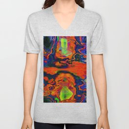 Lava flow ... Unisex V-Neck