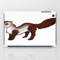 ferret iPad Cases featuring Ferret! by Sarah Engbretsen