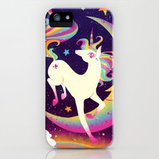 Let's Be Frank About Unicorns iPhone (5, 5s) Slim Case