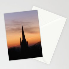 Sunset over Greenwich (UK) Stationery Cards