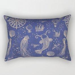 Ocean Meets Sky - Hardcase Rectangular Pillow