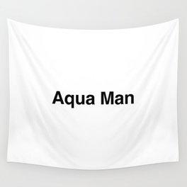 Aqua Man Wall Tapestry