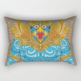 Garuda Warrior Rectangular Pillow