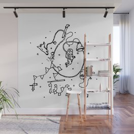 Into Space Wall Mural
