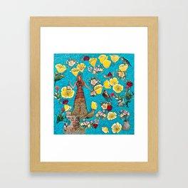 Stylophorum Framed Art Print