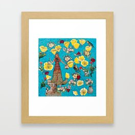 Stylophorum Framed Art Print