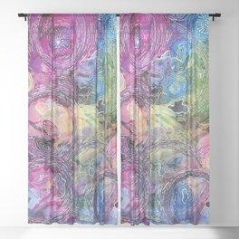 Colourful Chaos Sheer Curtain
