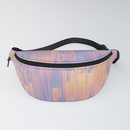 Chillhop Beats - Abstract Pixel Art Fanny Pack